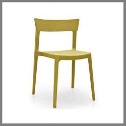 stoelen in kunststof