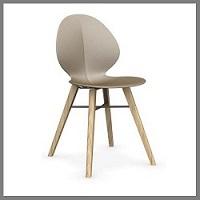 stoelen in kunststof / hout