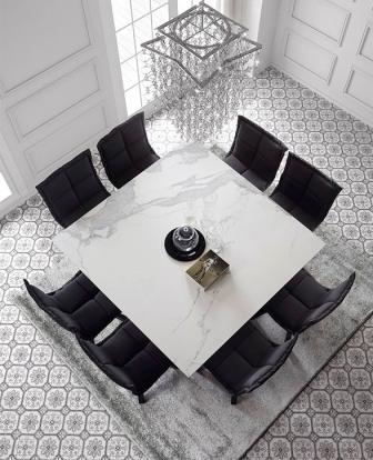 Vierkante Eettafel 150x150 Cm.Td 528 Stoelshop