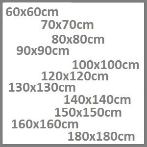 vierkante tafel