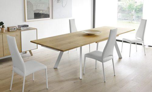 tafel-ponente-calligaris-hout