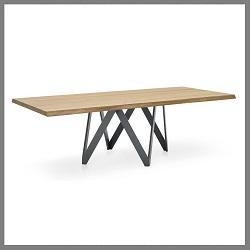 tafel-cartesio-calligaris-hout
