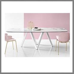 tafel-cartesio-calligaris-keramisch-glas
